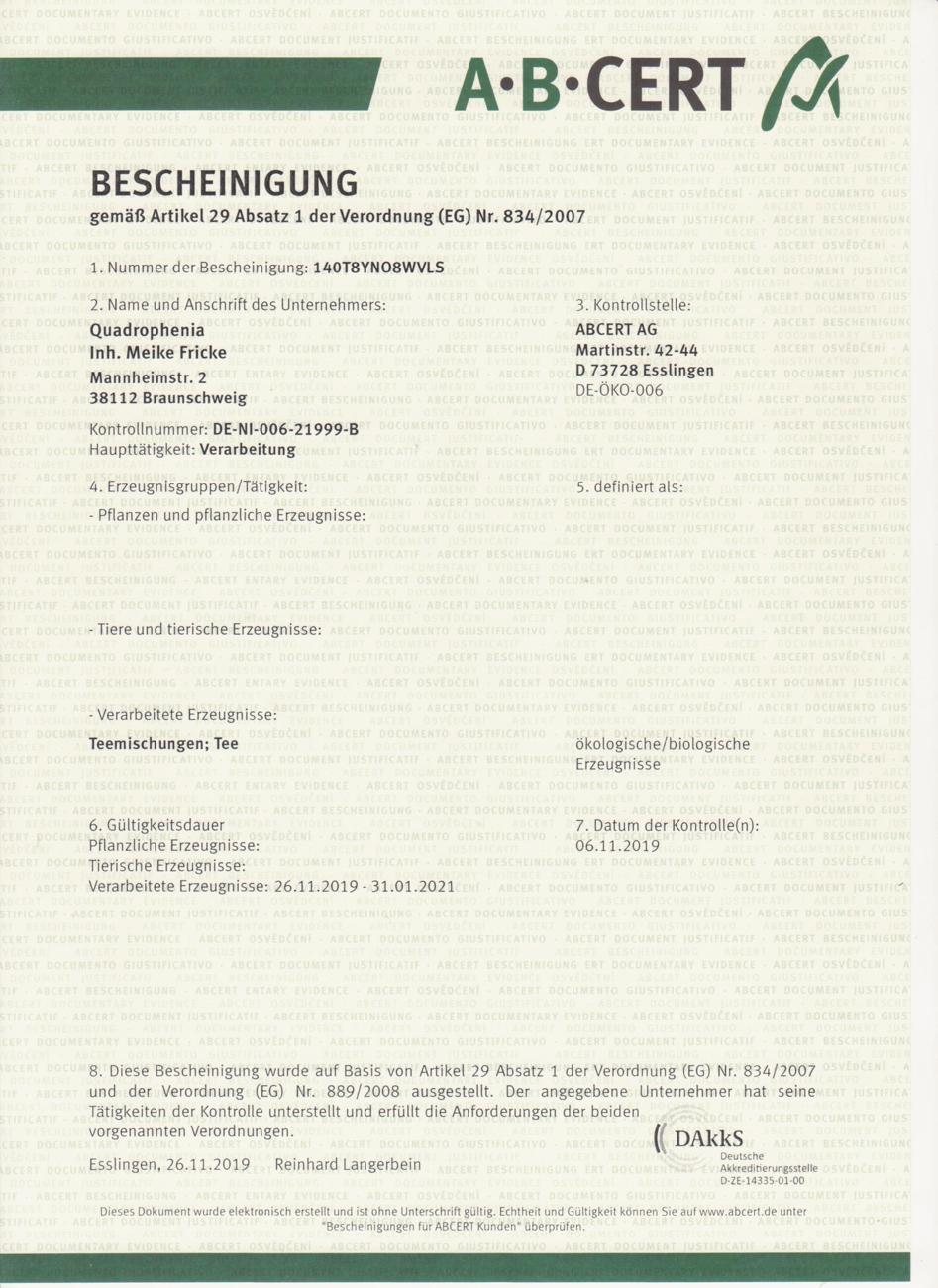 quadrophenia-bio-zertifikat